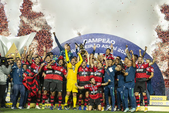 Flamengo shpallet kampion i Brazilit