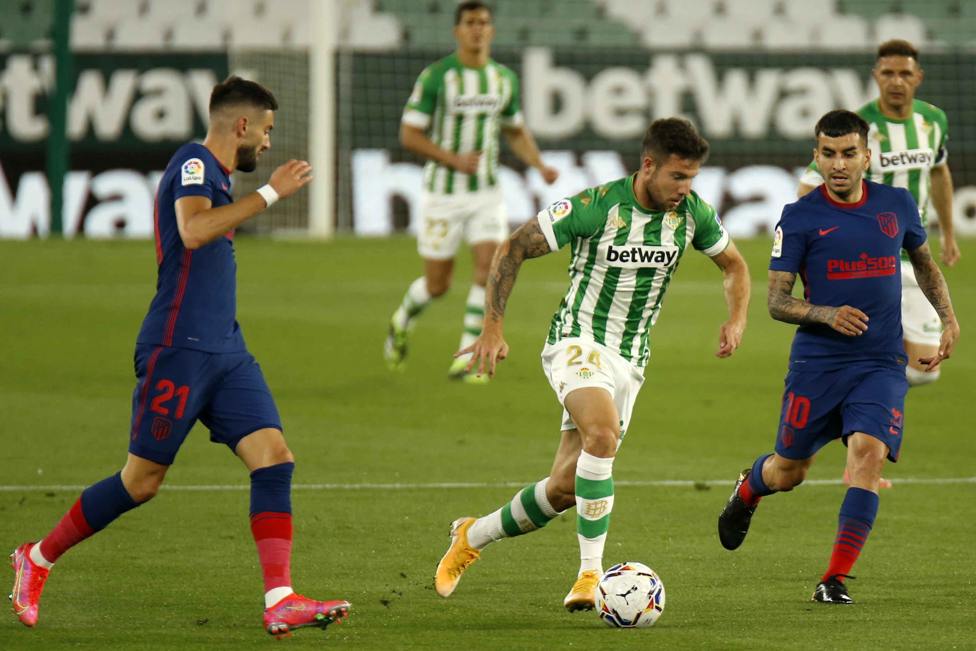 Betis frenon Atletikon, La Liga një …rebus