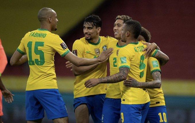 Nis Kupa e Amerikës, Brazili tri gola…