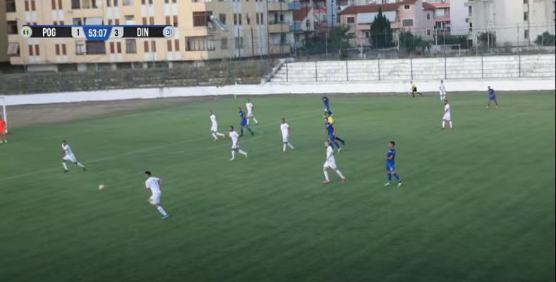 Dinamo 4 gola Pogradecit, shënon Ibraimi